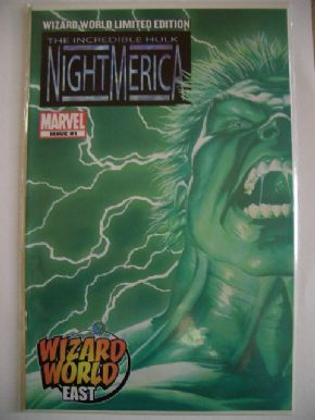 Hulk: Nightmerica #1 Wizard World East Variant Edition